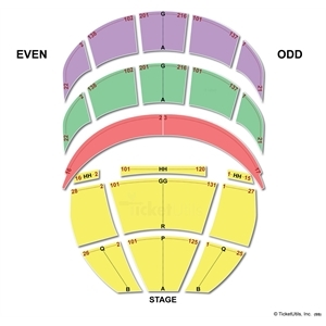 Kennedy Center Opera House Seating Charts.