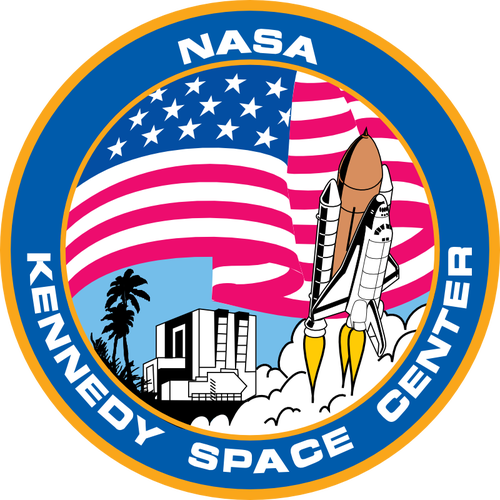 Kennedy Space Center logo vector image.