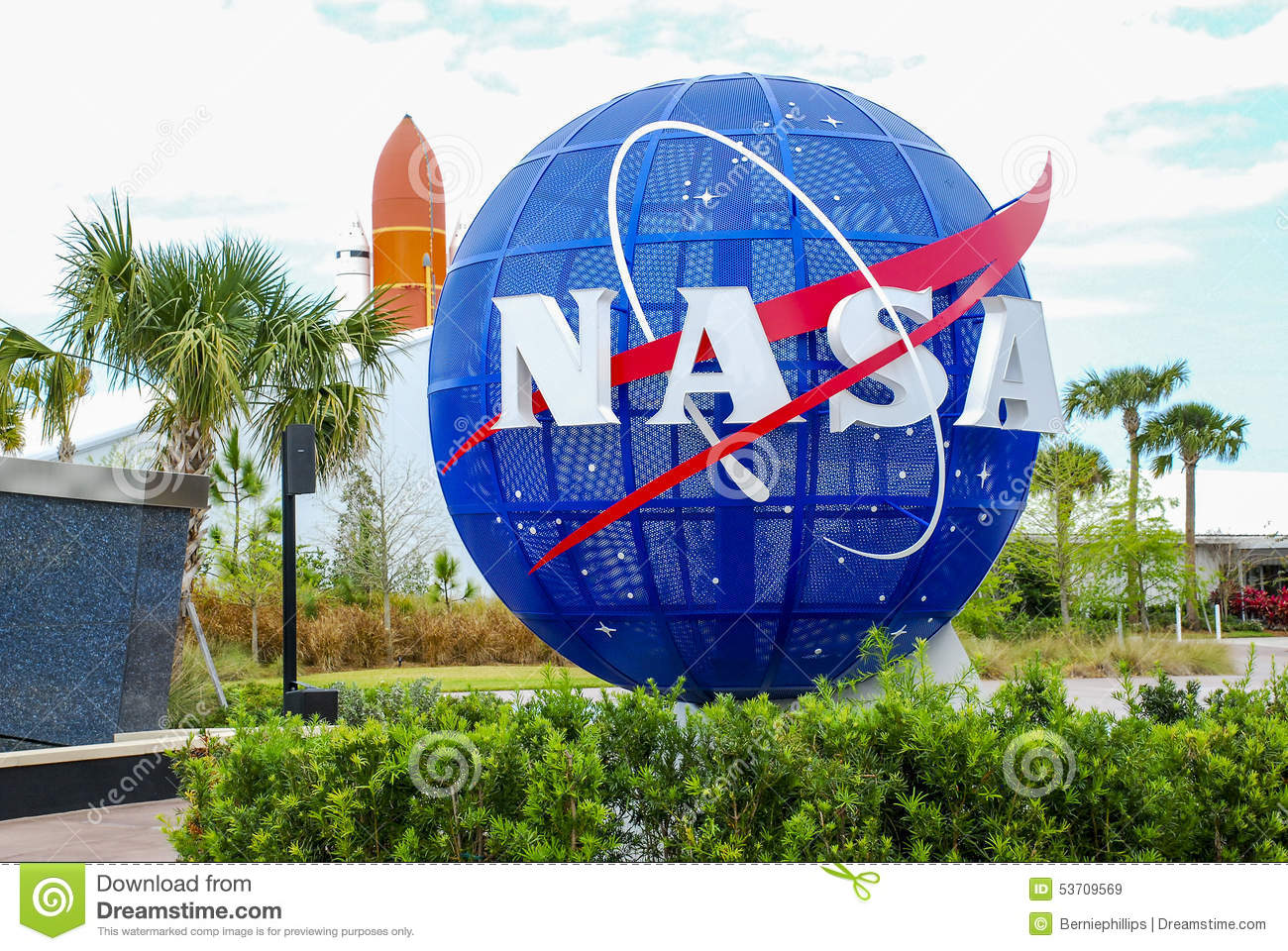 NASA Kennedy Space Center Editorial Stock Image.