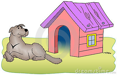 Kennels clipart #19