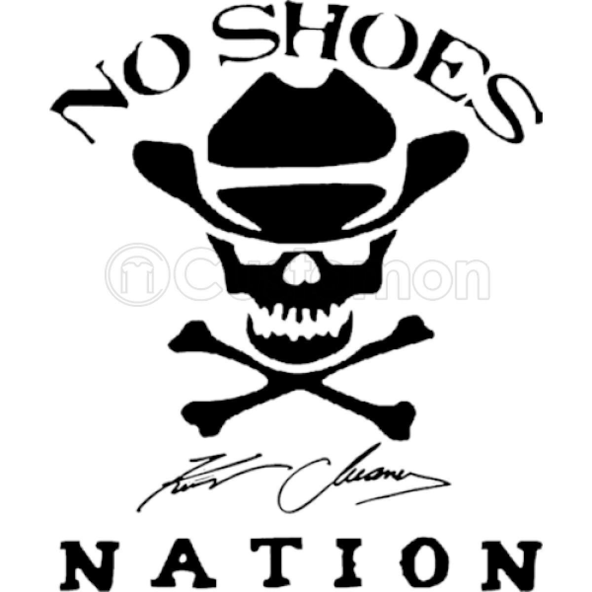 Kenny Chesney No Shoes Nation New Logo Men\'s T.