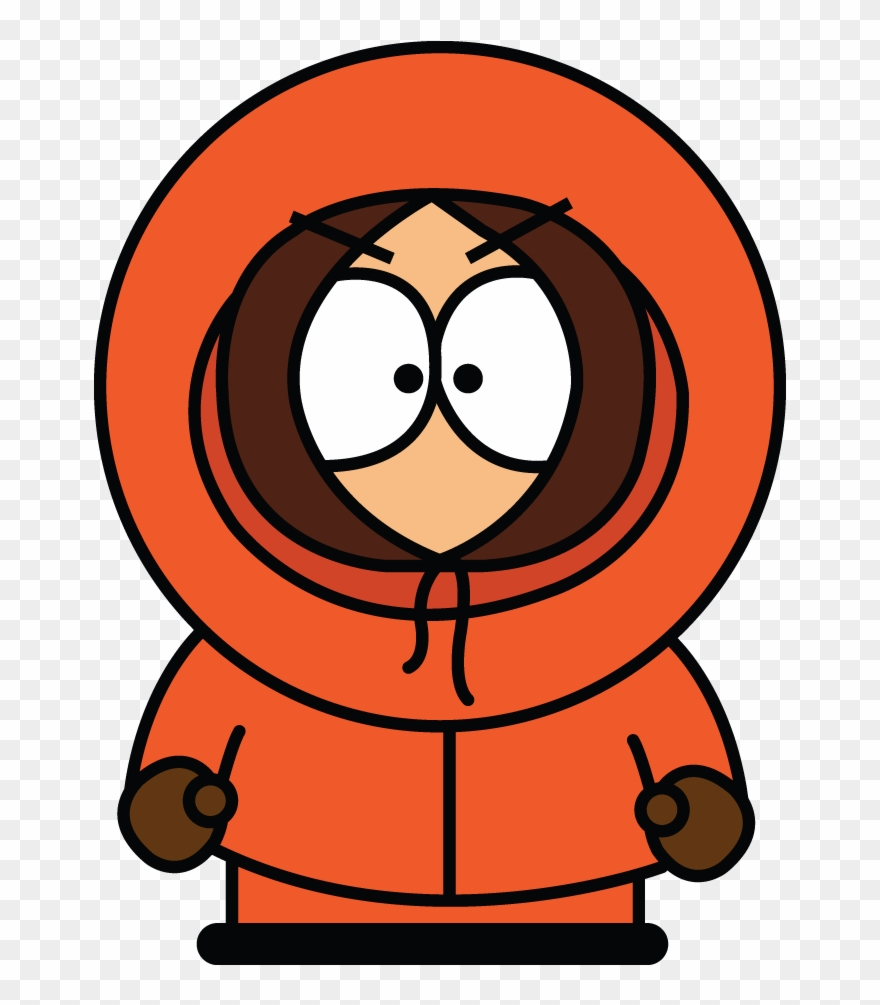 How To Draw Kenny From South Park, Cartoons, Easy Step.