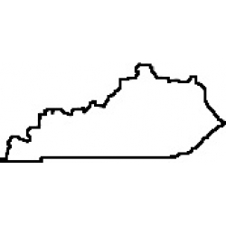 State Of Kentucky Clipart.
