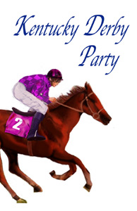 Kentucky Derby Party Clipart.