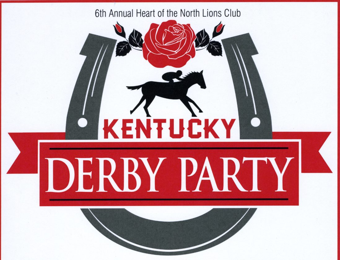 Heart of the North Lions Kentucky Derby Party set.