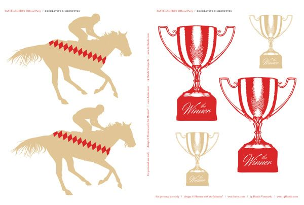 FREE Kentucky Derby Party Printables.