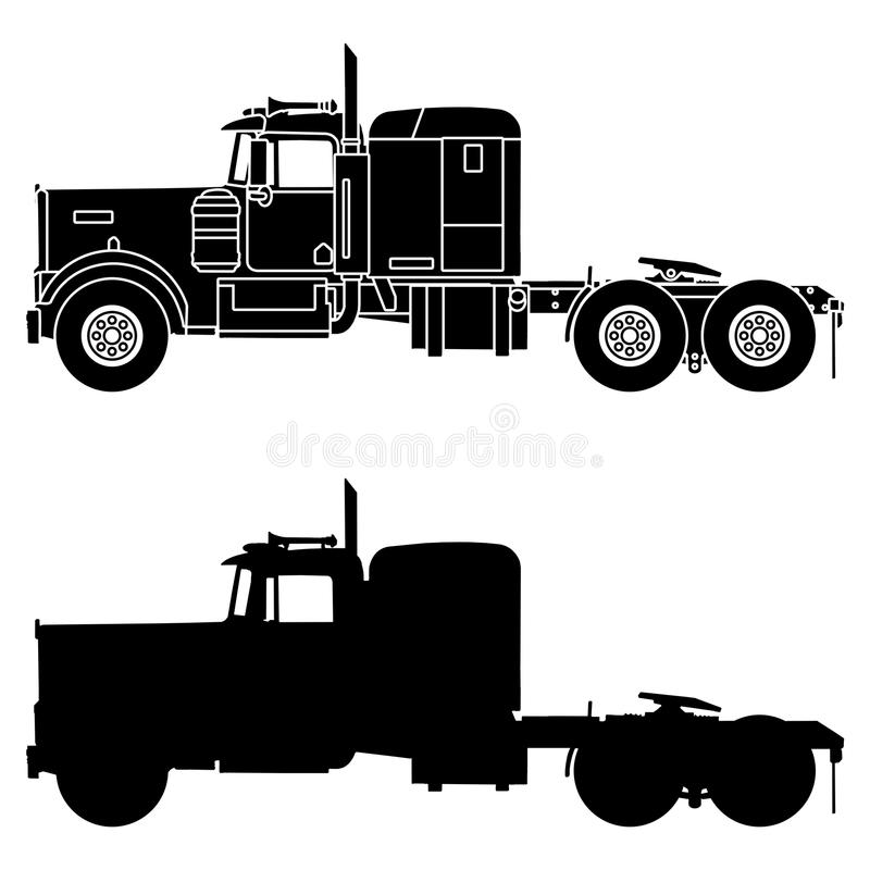 Kenworth Stock Illustrations.
