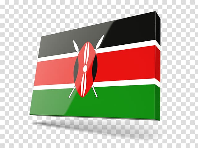 Kenya Brand Logo Rectangle, kenya Flag transparent.