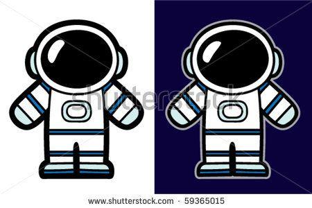 Spacemen Cartoon suits.