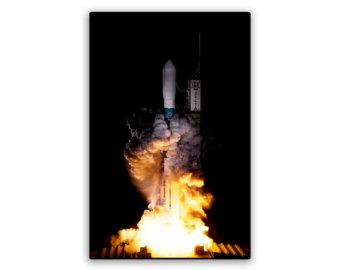 nasa rocket blast.