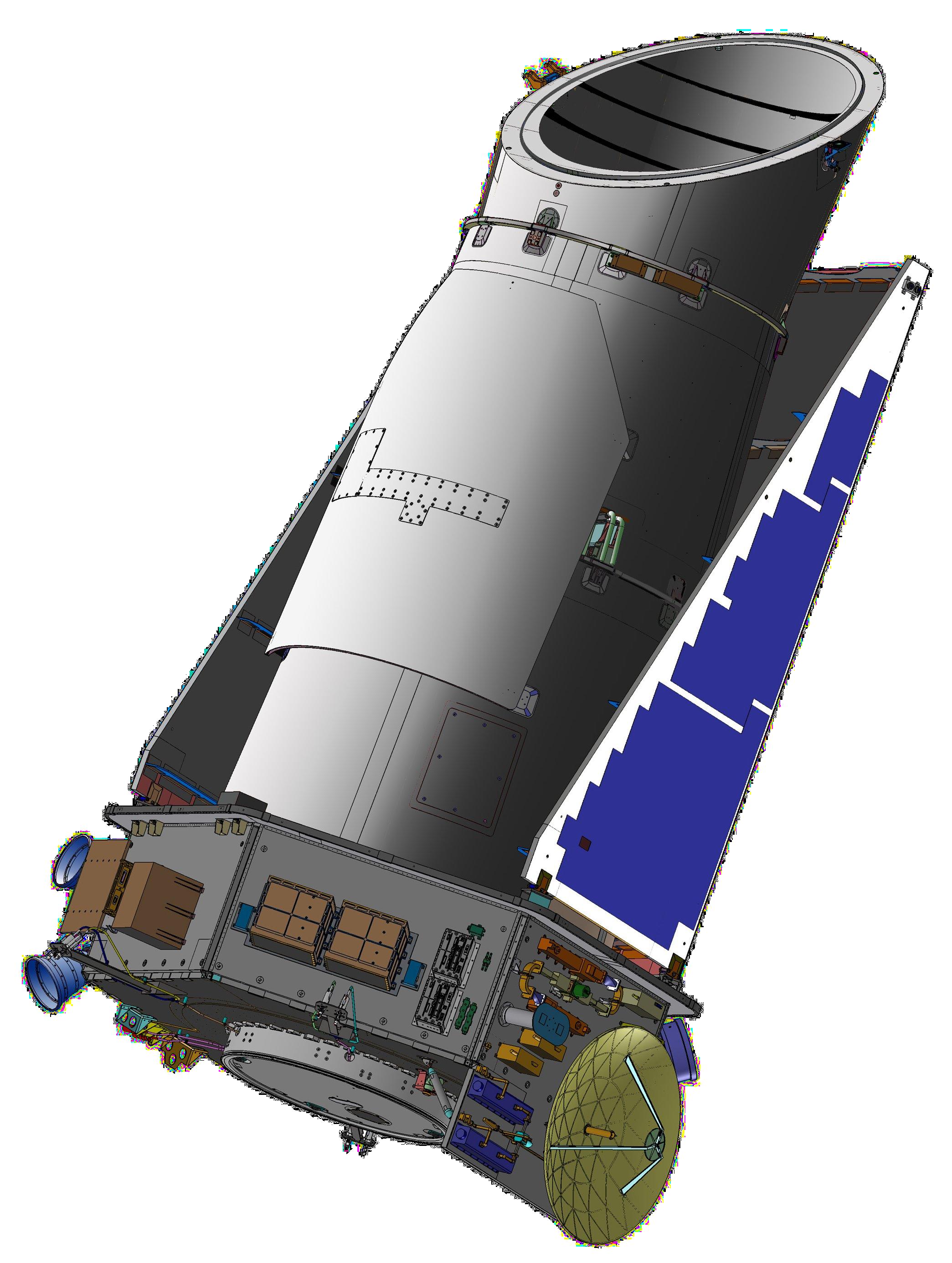 Kepler Telescope Clipart.