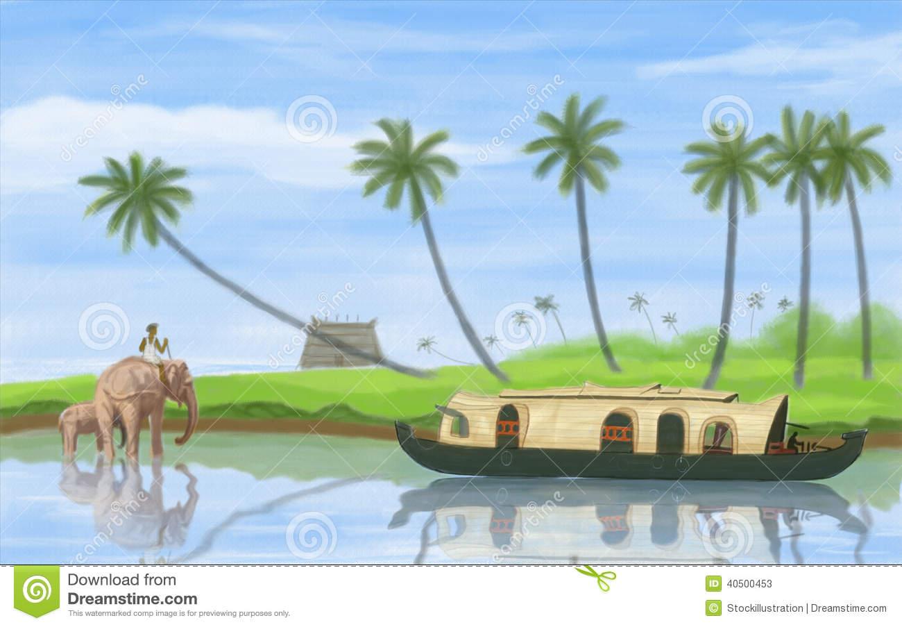 Kerala Stock Illustrations.