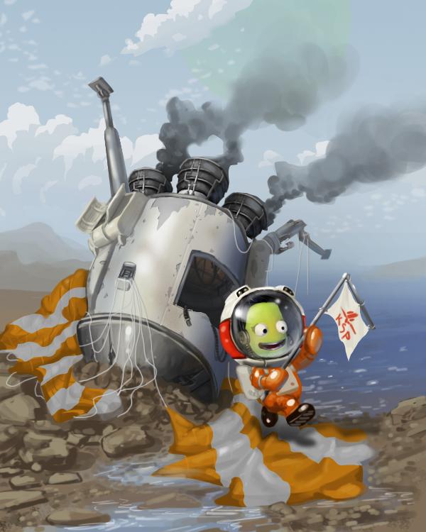 Kerbal Space Program Clipart.