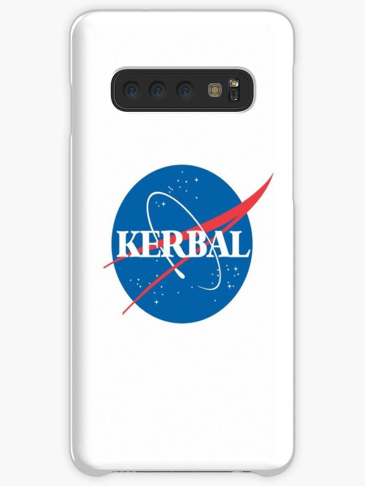 \'Kerbal Space Program NASA logo (small)\' Case/Skin for Samsung Galaxy by  flashman.