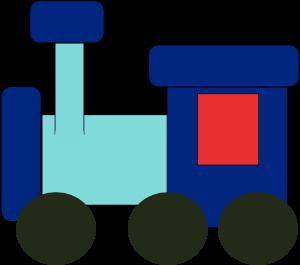 Kiddy Train Clip Art at Clker.com.
