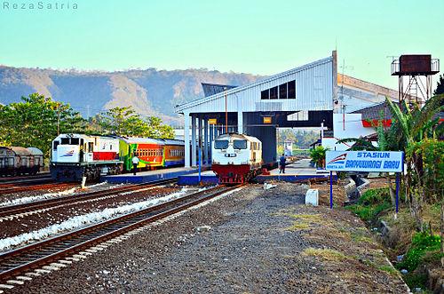 Stasiun Banyuwangi Baru.