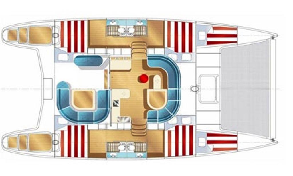 Discover Ionian Island on Nautitech 44 Sailing Catamaran.
