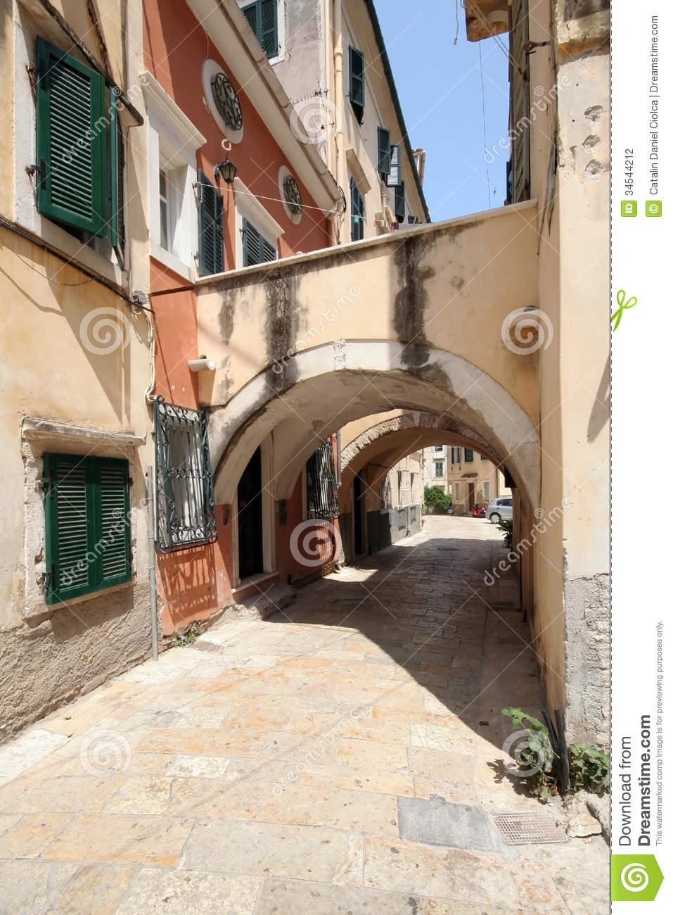 Kerkyra, Corfu Stock Photography.