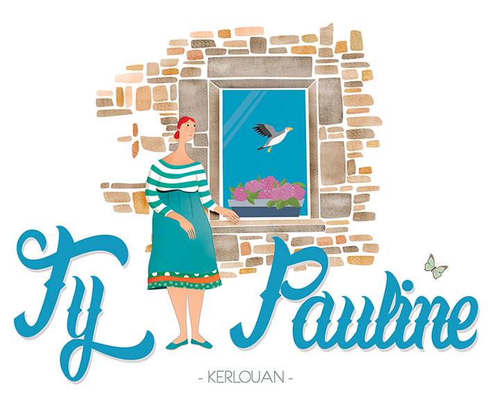 "TATANINIG: Penty ""Ty Pauline"", une jolie grange en pierre rénovée."