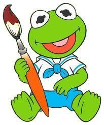 Clip Art MS Piggy and Kermit.
