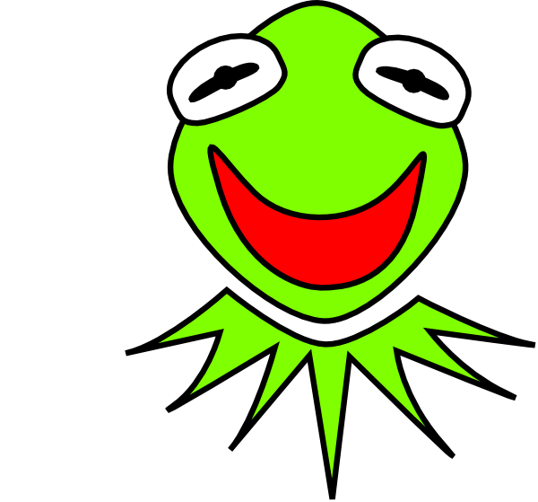 Kermit Clip Art at Clker.com.