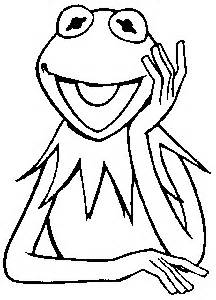 Coloring Pages Of Kermit The Frog.
