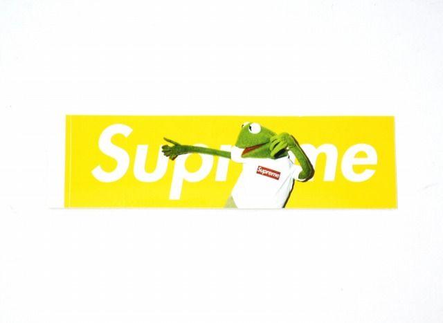 Kermit Supreme Box Logo.
