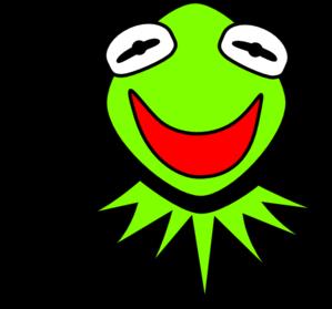 Kermit Clip Art at Clker.com.