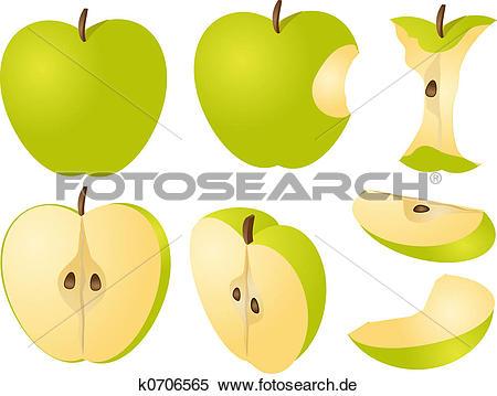 Apfel kern Stock Illustration und Clipart. 98 apfel kern EPS.