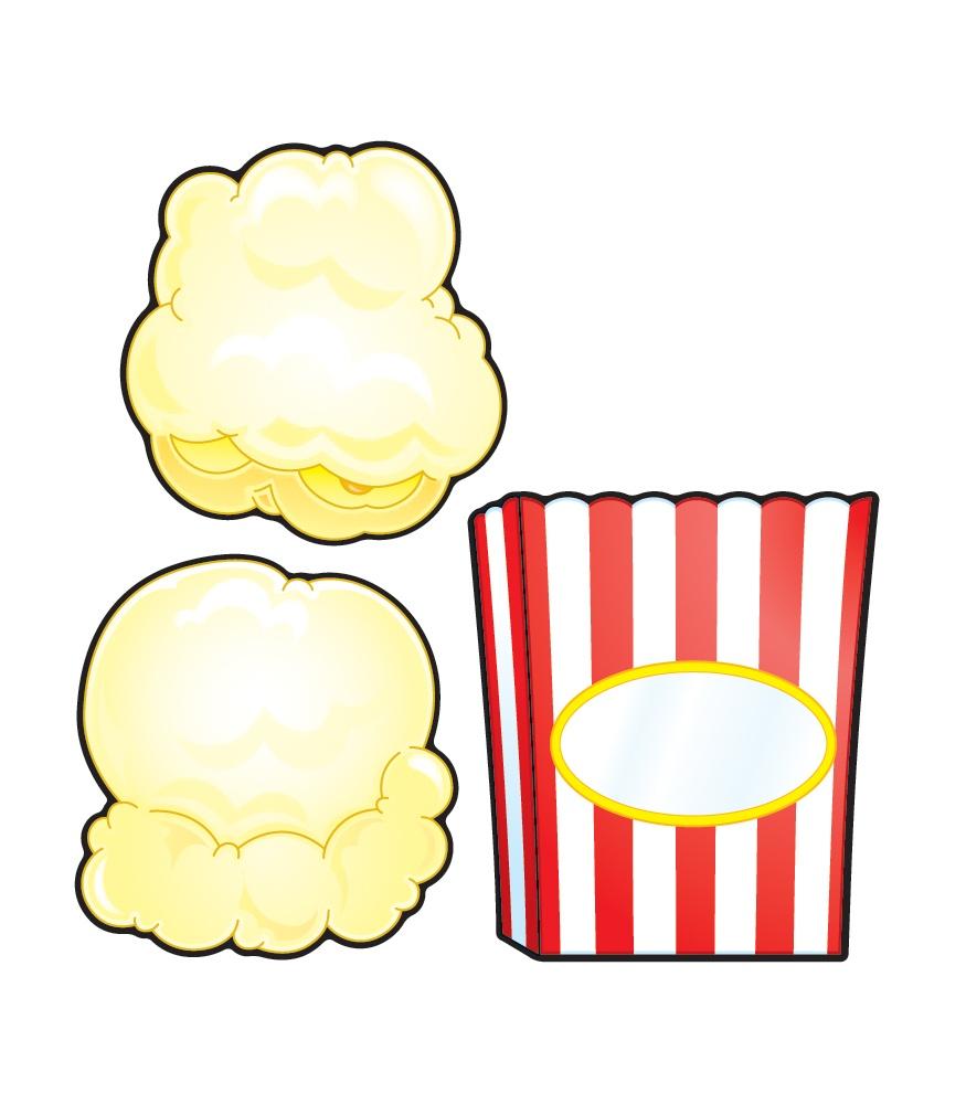 Popcorn Kernel Border.