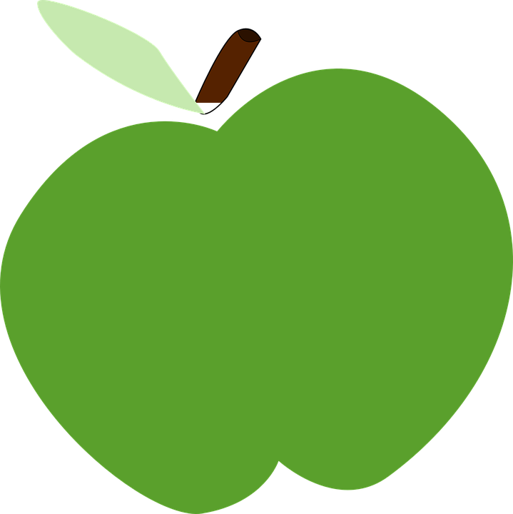 Green, Apple.