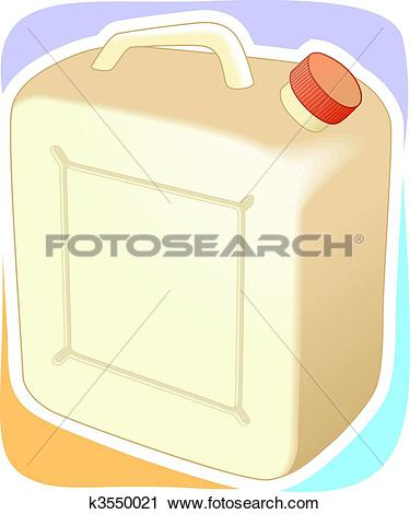 Clipart of can k3550021.