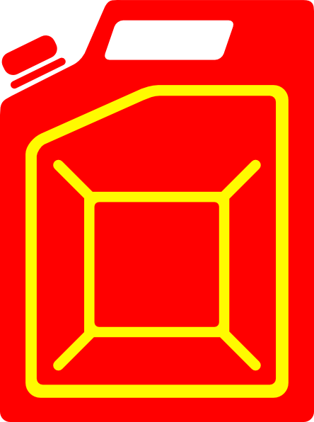 Jerry can clipart #2