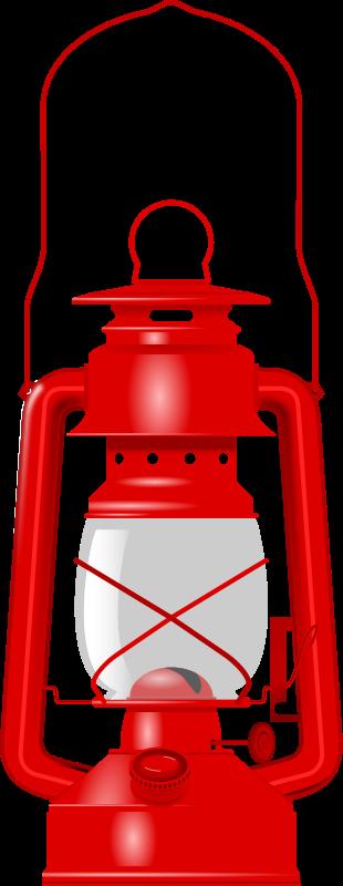 Paraffin Lamp Clipart