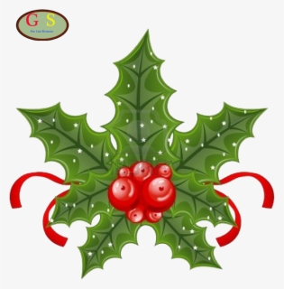 Free Holly Berry Clip Art with No Background.