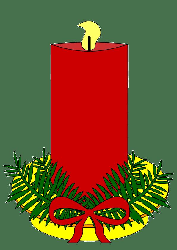 Rote kerze clipart 1 » Clipart Portal.