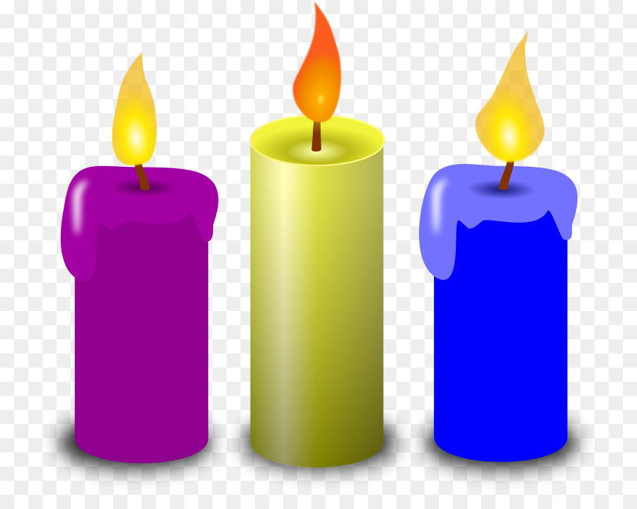 Flammenlose Kerzen Kostenlose Inhalte Clip.