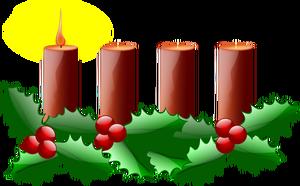 144 Kerze kostenlose clipart.