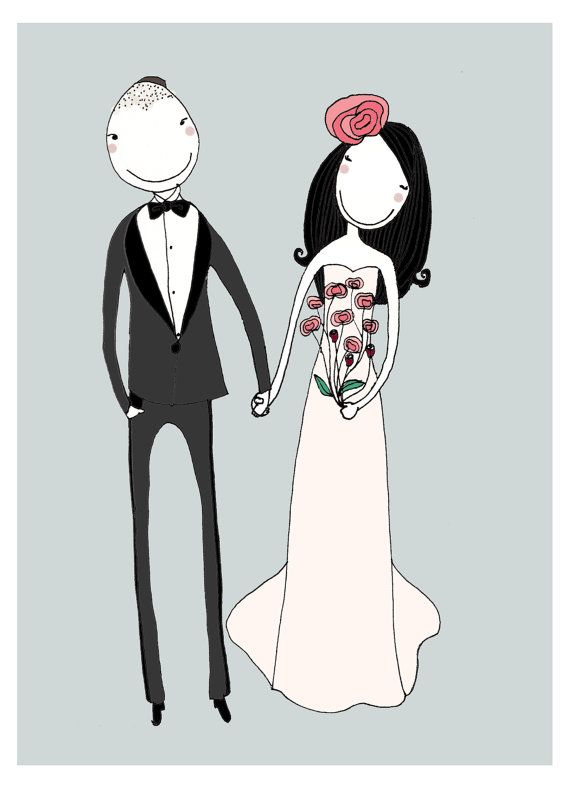 1000+ images about Wedding Illustrations <3 on Pinterest.