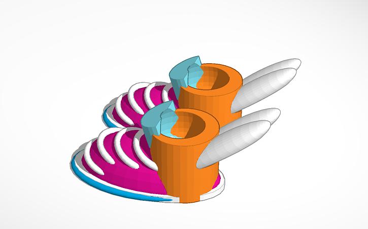 3D design 4k elif keser shoes.