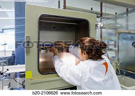 Stock Images of Kesternich corrosion chamber. Laboratory corrosion.