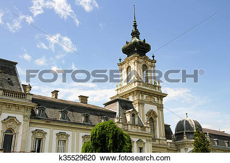 Stock Photography of Famous castle in Keszthely k35529620.