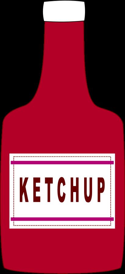Ketchup Clip Art.