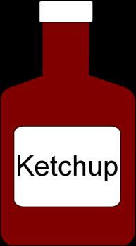 Ketchup 20clipart.