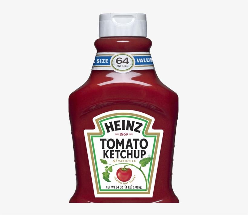 Heinz Ketchup Label.