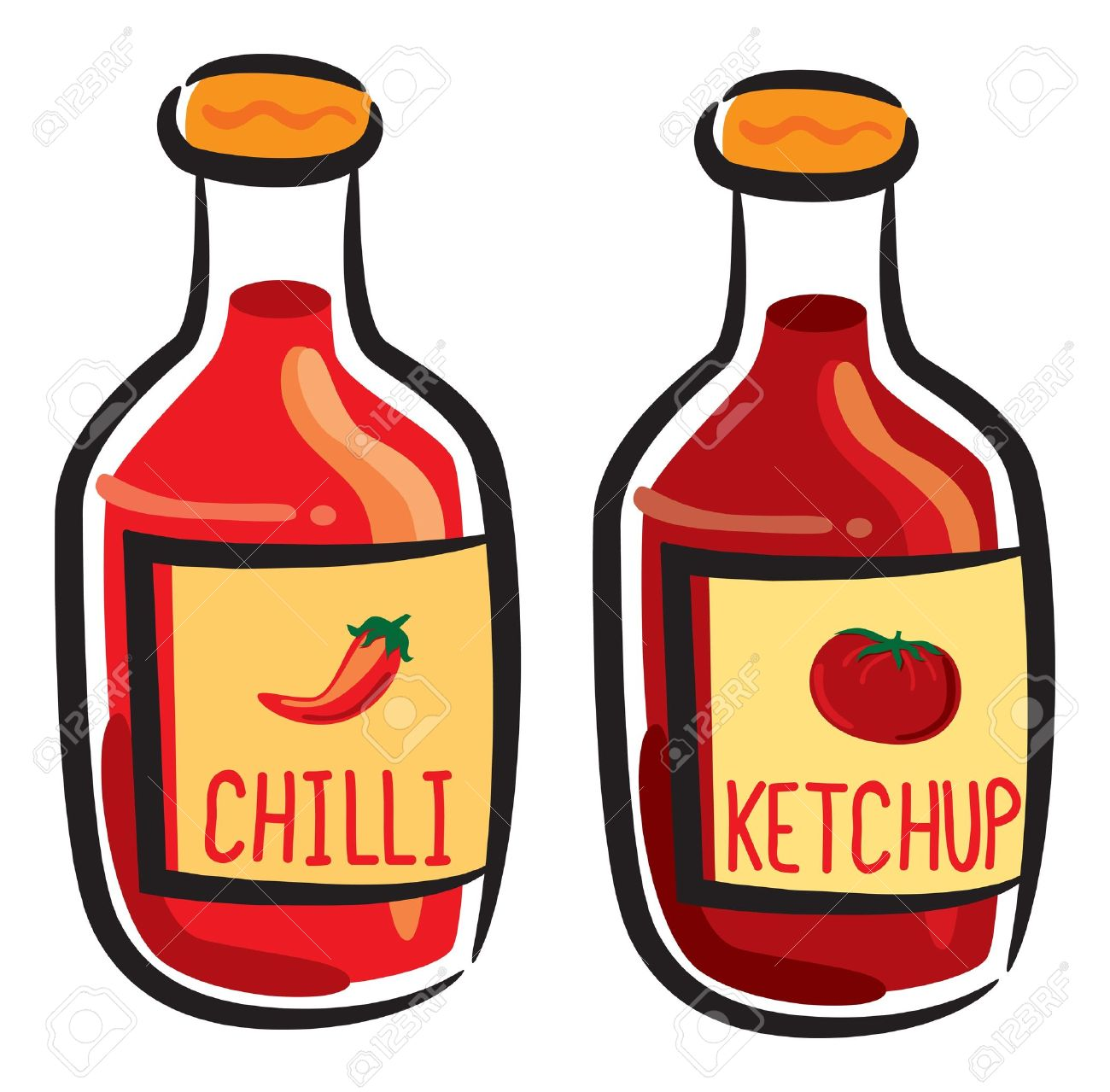 1,955 Ketchup Bottle Stock Illustrations, Cliparts And Royalty.