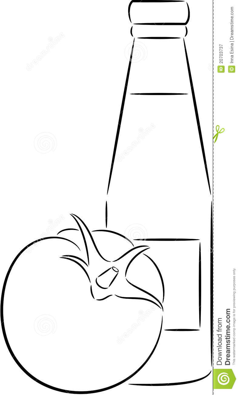 Mustard And Ketchup Pages Coloring Pages