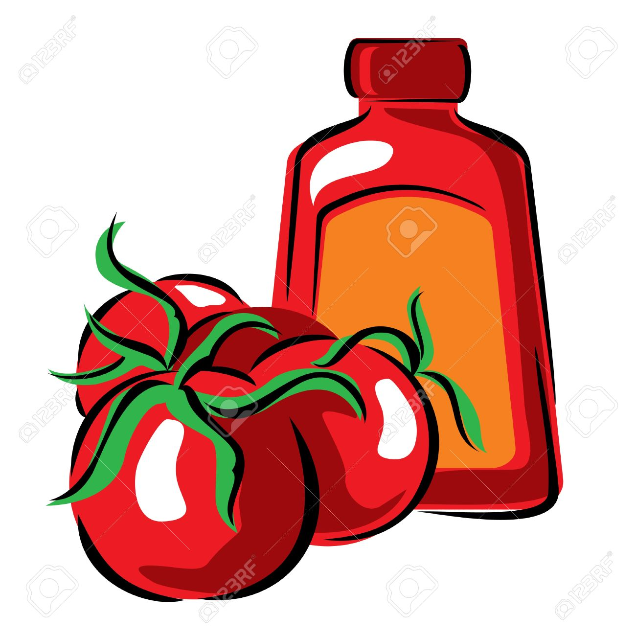 Showing post & media for Cartoon tomato paste.