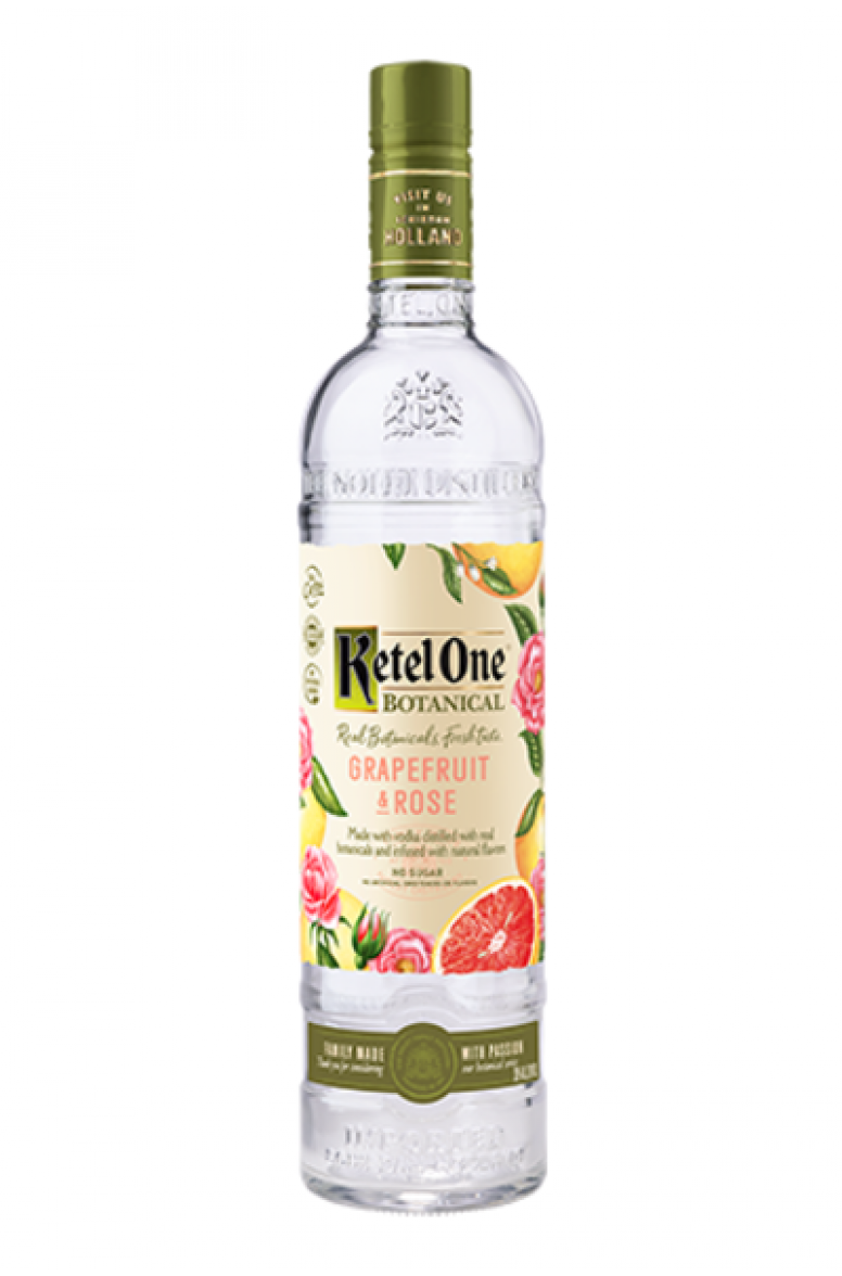 Ketel One Botanicals Grapefruit and Rose.
