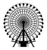 Clip Art of Carousel horse k9369617.